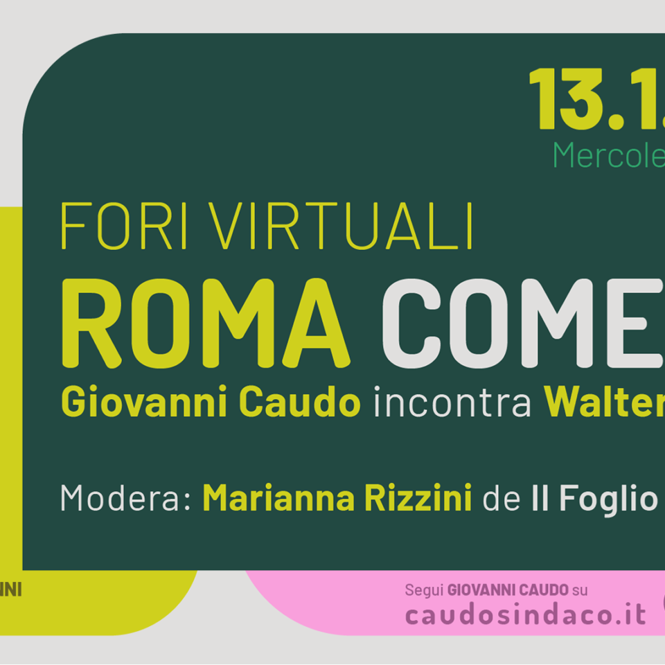 Roma come se, 13 gennaio 2021